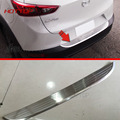 HOTTOP Stainless Steel Rear Bumper Sill Protector Trim For Mazda CX 3 2015 2016 2017
