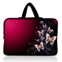 "Pink 10.1"" 10.2"" Netbook Laptop Carrying Sleeve Case Bag Cover+ Hide Handle For 9.7""-10.2"" Apple, ASUS,ACER, HP,DELL(China (Mainland))"