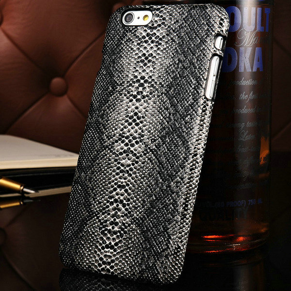 Fashion Snakeskin pattern PU Leather Case iPhone 6 Plus 5.5 inch Inch Luxury PC Mobile Phone Back Cover 3 colors - Shop208695 Store store