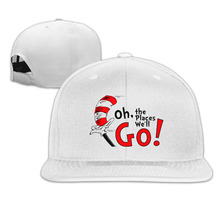 Buy 2017 Oh,the Place Will Go Baseball Fitted Hat Casual Cap Gorras Hip Hop Snapback Hats Wash Cap Men Women Unisex for $17.99 in AliExpress store