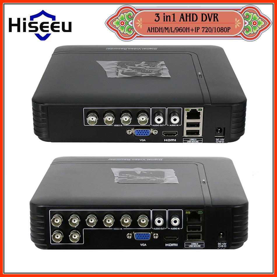 AHDNH 1080N 4CH 8CH CCTV DVR Mini DVR For CCTV Kit VGA HDMI Security System Mini NVR For 1080P IP Camera Coaxial DVR PTZ H.264(China (Mainland))