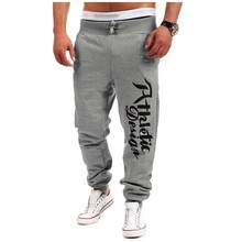 5 Colors New 2016 Men Brand Casual Sports Cotton Long Pants Letter Printed Joggers Trousers Male Fashion Sweatpants Sportwear(China (Mainland))