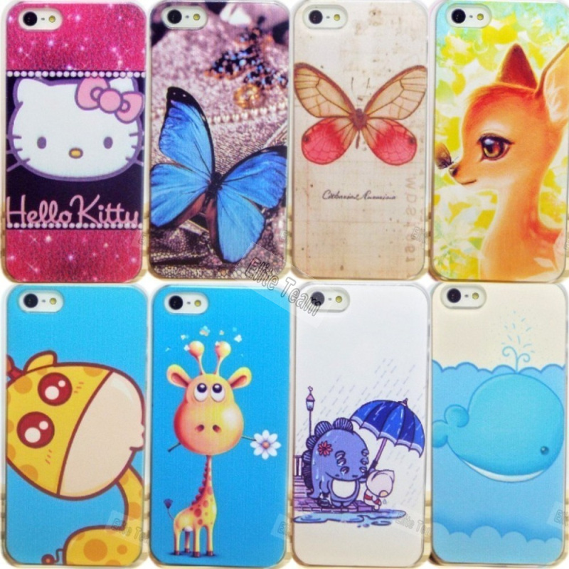 4 4S Drop Shipping 1PC New Cute Painting Hard Back Cover Skin Apple iPhone Case iPhone4 Phone Shell Cases 2016 Top - PHONE-CASE HOME store