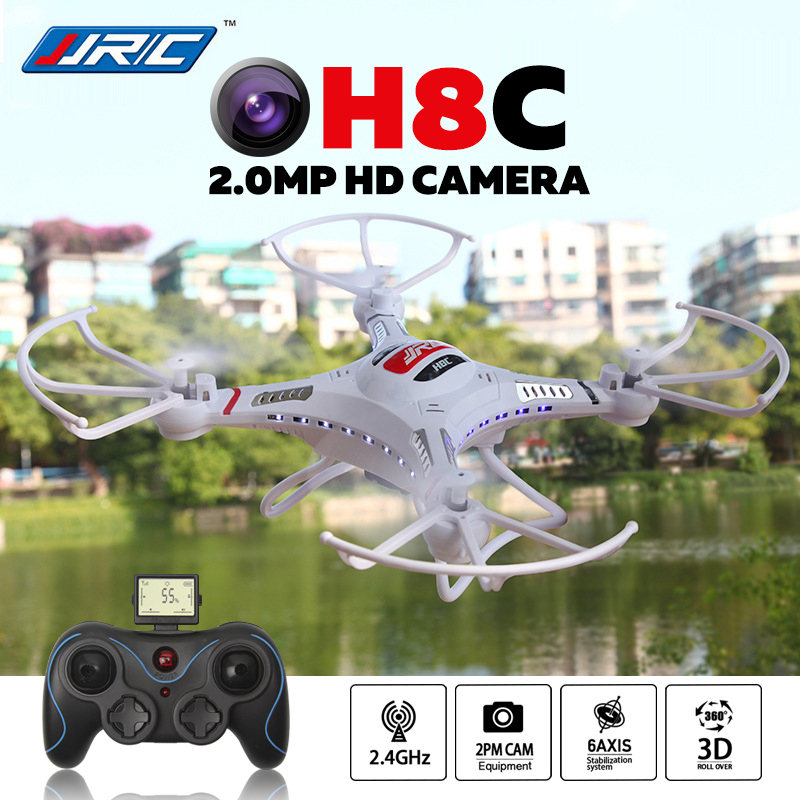 JJRC H8C 2 4GHz Quadcopter 6 Axis Gyro 4 Channel Mini Drone with Camera HD 2