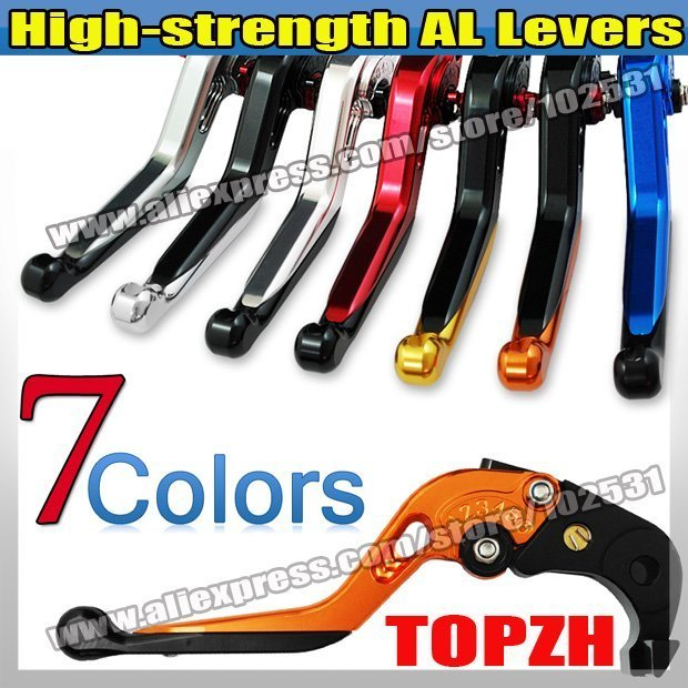 New High-strength AL adjustable Levers Clutch & Brake for Motorcycle H0NDA YZF R6 99-04 S034