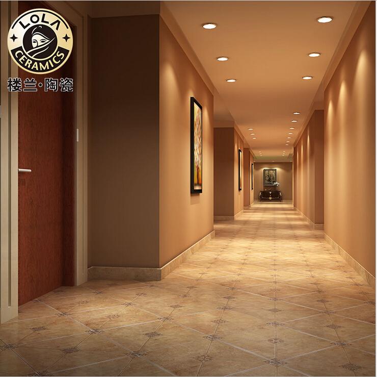 Brick hotel project 450 * 450 Wear non-slip antique brick Home building Ceramic tile Floor tiles Waterproof(China (Mainland))
