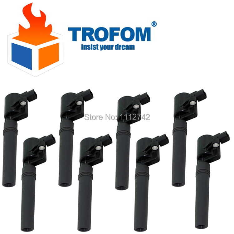 Ignition Coil Ford Thunderbird Jaguar XJ S-Type Lincoln LS DG529 FD506 2W4Z12029BD 2W4Z12029BC 2W4Z12029BA XW4U12A366BB  -  Trofom Spare Parts Store store