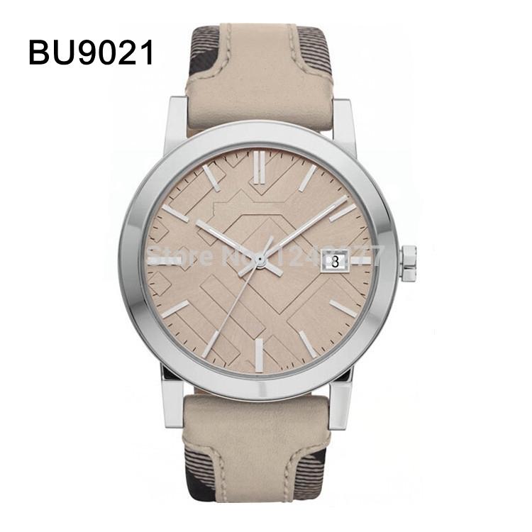 New men wristwatch beige band and beige dial gent watch BU9021 9021+Original Box(China (Mainland))