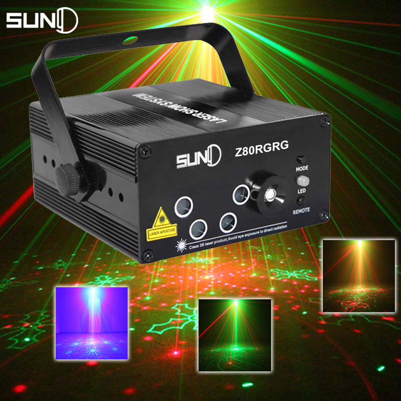 LED Laser Stage Lighting 5 Lens 80 Patterns RG Mini Led Laser Projector 3W Blue Light Effect Show For DJ Disco Party Lights(China (Mainland))