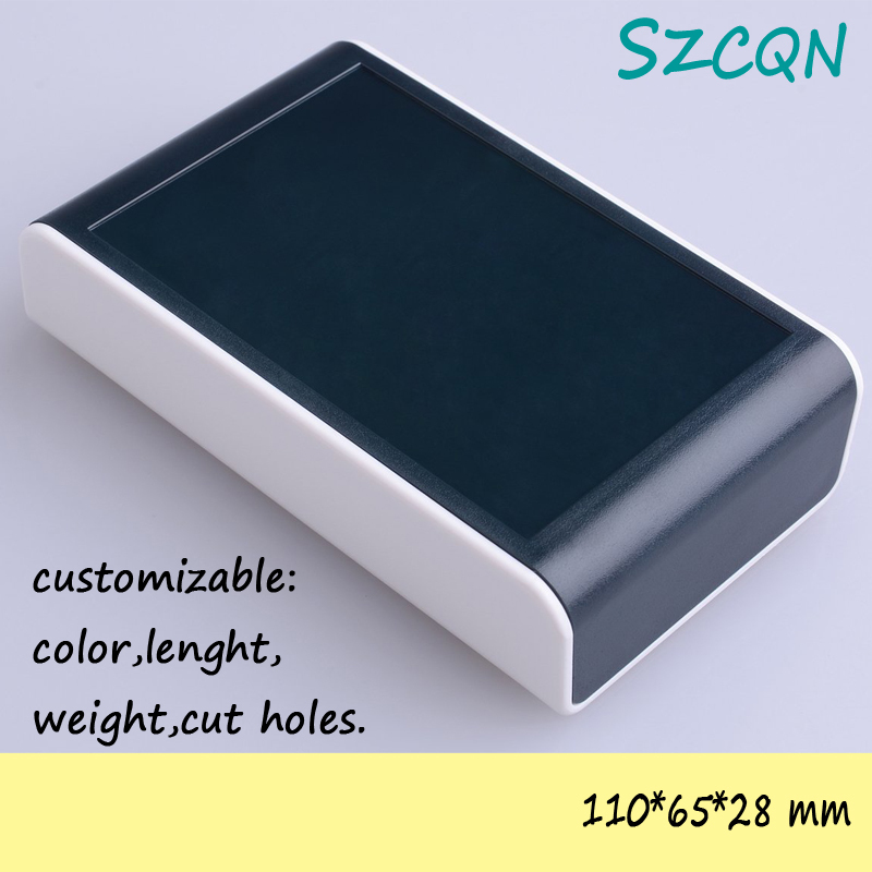 [5pcs/6colors] diy plastic enclosure abs box electronics project cases pcb 110*65*28mm - QN-Enclosure Technology CO.,ltd store