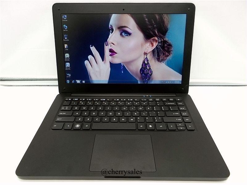 13.3 Inch Laptop Computer Notebook with Intel Celeron J1900 Quad Core 4GB RAM & 500GB HDD Windows 7/8/10 3G WIFI HDMI Webcam(China (Mainland))