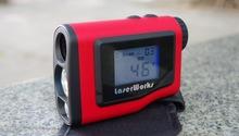 Telémetros prismáticos pantalla LCD 600 m medición Laser Range finder distancia Tester ingeniería calibración herramientas de velocidad