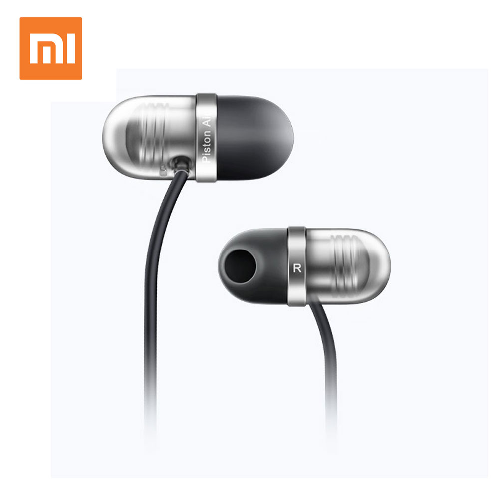 Original Xiaomi Mi In-Ear Earphone Capsule Piston Air With Mic Earphone Silicone Earphones For Cell Phone(China (Mainland))