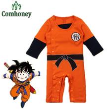 Baby Rompers Dragon Ball Новорожденных Мальчиков Одежда Для Новорожденных Малышей Bebe Комбинезон Хэллоуин Костюмы Для Девочки Одежда(China (Mainland))