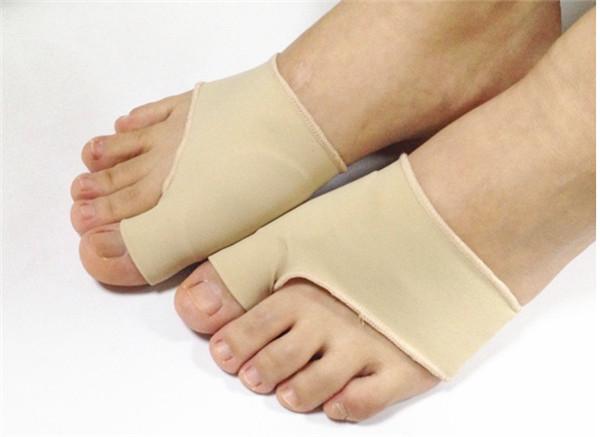 100 pairs Great Toe Cyst Foot Care Tool , Stretch Nylon Hallux Valgus Guard Cushion Bunion Toe Separator Thumb valgus protector(China (Mainland))