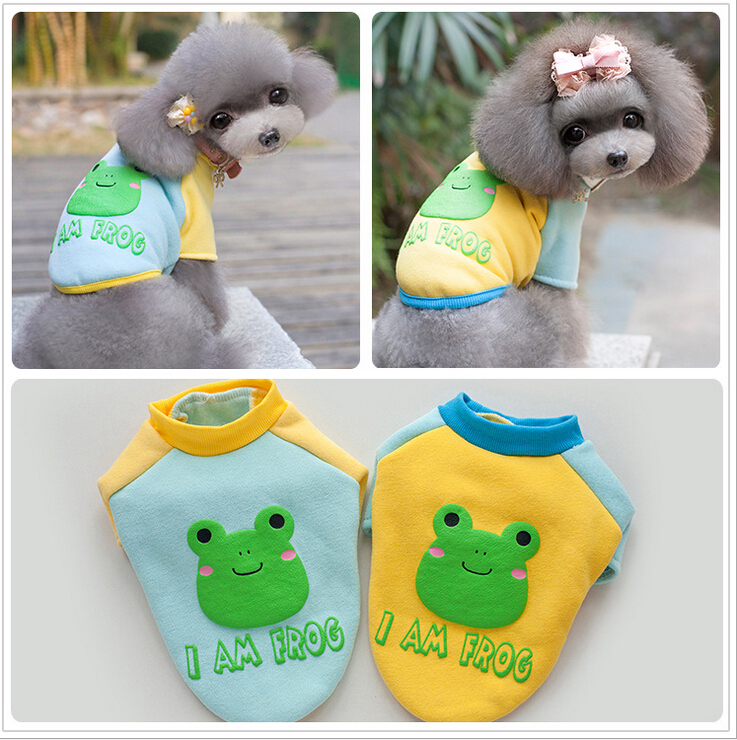 15026B# Petco Pet Costume Pet Clothes Dog Apparel Wear Dog Clothing Dog Coats Spring Autumn T-shirt Cute Design(China (Mainland))