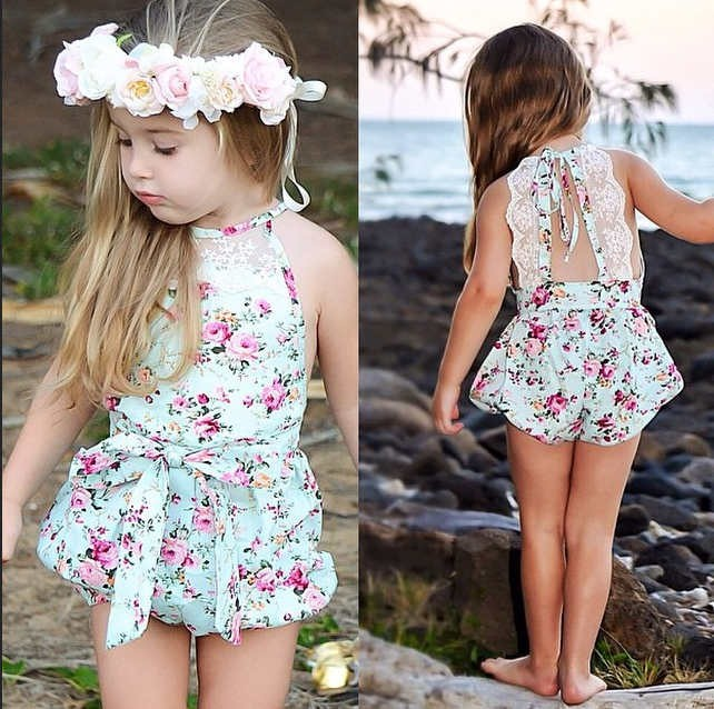 Online Buy Wholesale Baby Lace Romper From China Baby Lace