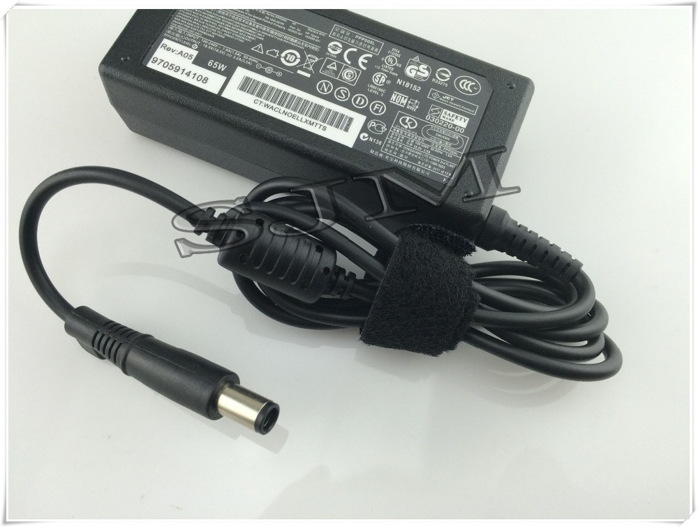 Original 18.5V 3.5A AC Adapter Charger 7.4*5.0mm For hp Laptop CQ35 G61 G70 DV6 DV7 DV4 ProBook 4310s 4410s 4415s 4510s 4515s(China (Mainland))