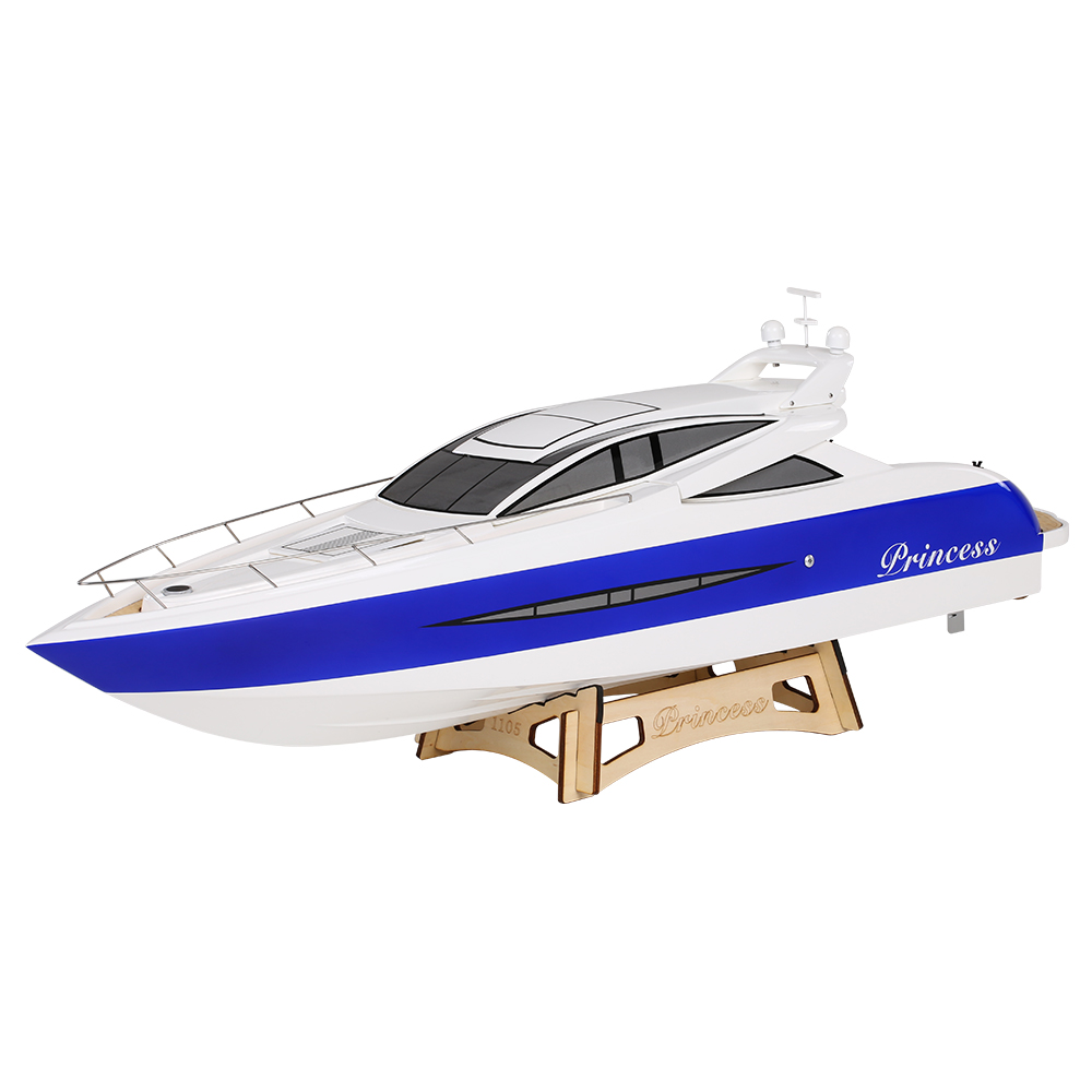 RC Boat 1105 Princess 2.4G 2CH 3660 Brushless Electric Water Cooling Speedboat Fibre Glass RC Boat w/ 1620KV water-cooled motor(China (Mainland))
