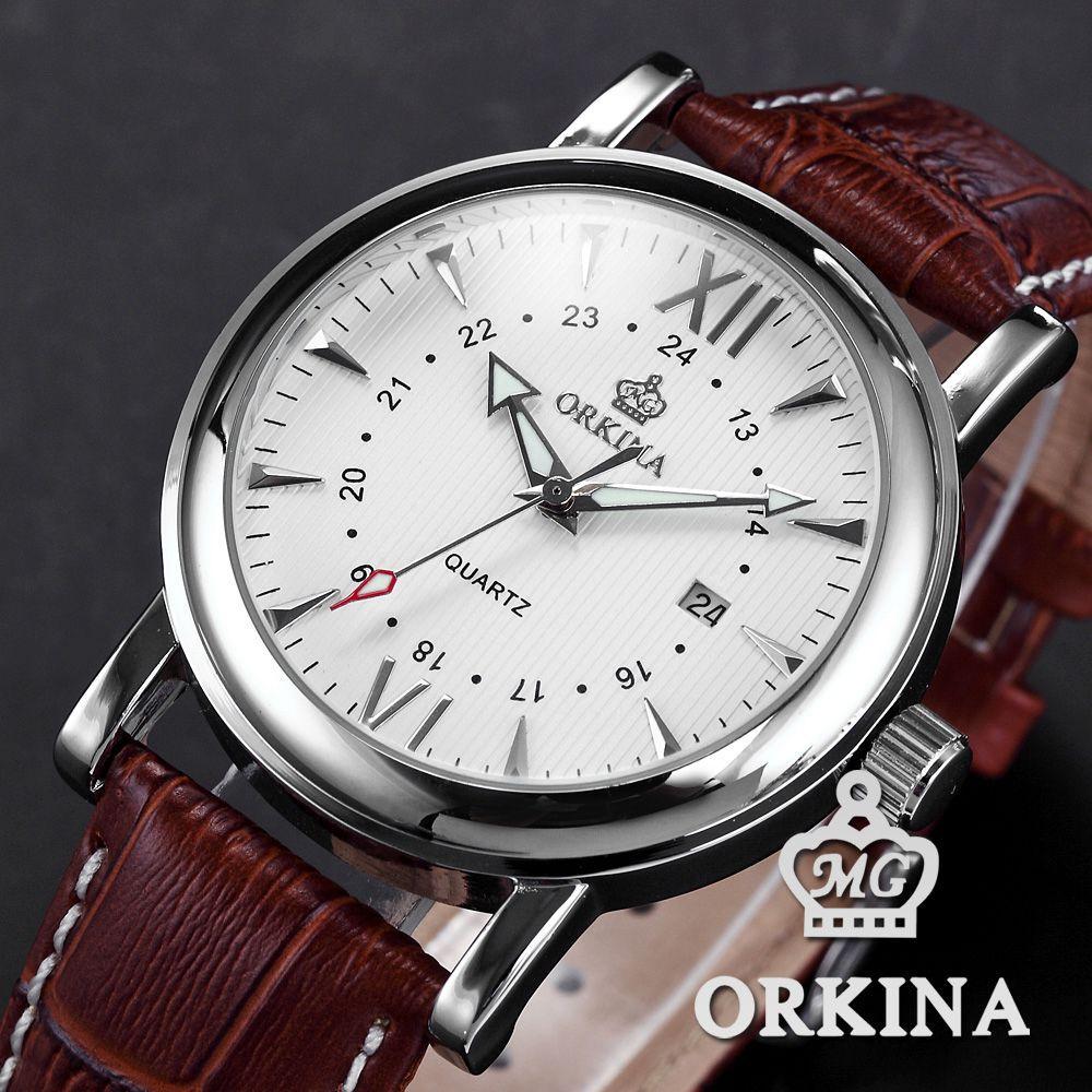 orkina japan miyota movement reloj hombre luxury