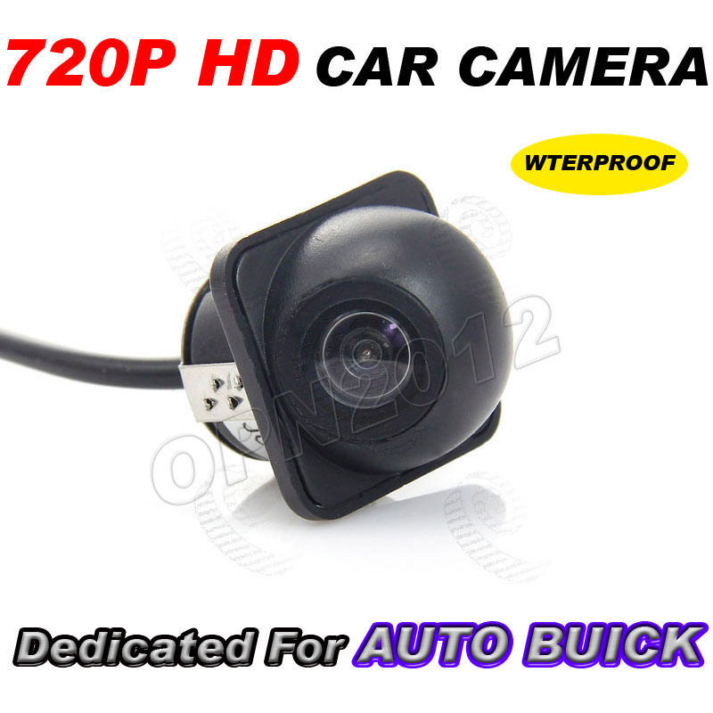 170 Wide Angle HD Car Parking Side Rear View 720P CCD Camera Webcam Reverse Backup Color Night Vision For Auto Buick(China (Mainland))