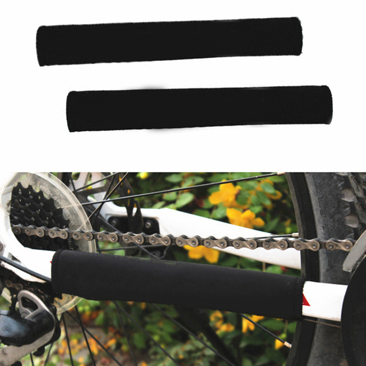 High Quality Bicycle Accessories Protable Bicycle Chain Protector Cycling Mountain Bike Frame Protector Color Random CYC-001770(China (Mainland))