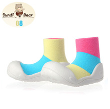 2016 Hot Attipas same design SandiBear baby boy girl shoes Soft and Comfortable children first walker toddler moccasins shoes(China (Mainland))
