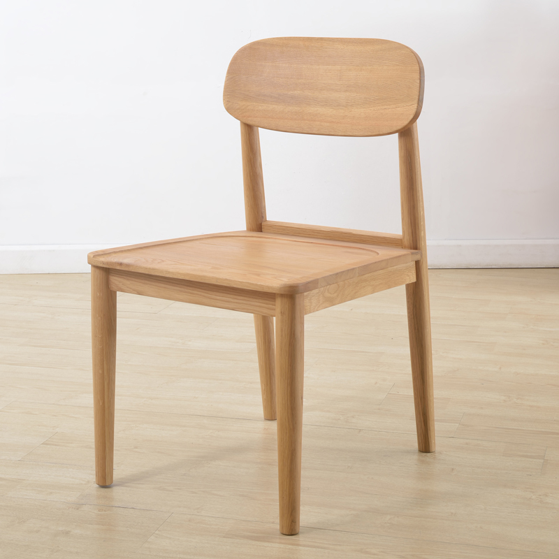 Wild oak wood chairs North American white oak Y1 fashion Japanese-Scandinavian-style furniture chairs(China (Mainland))