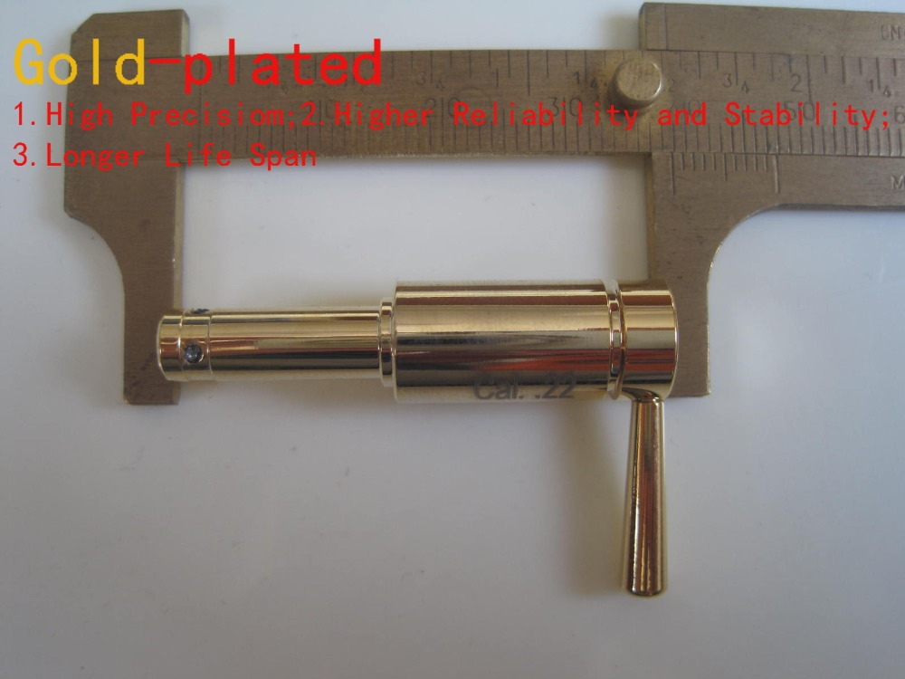 Long Version Cal.22 High Accurate Tactical Red Hunting Laser Boresighter for Gun, .22 Gun Bore Sight<br><br>Aliexpress
