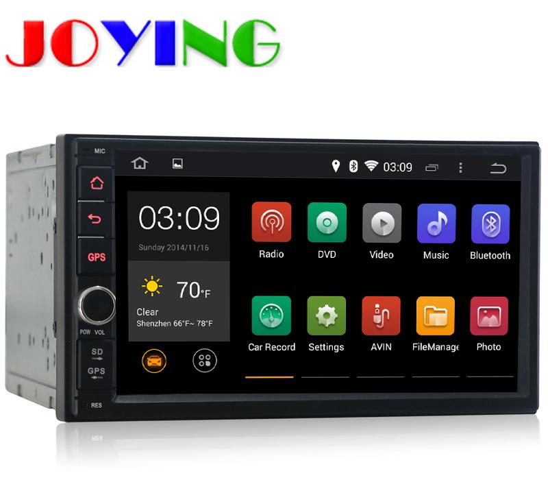 Quad Core 2 din 7 INCH Android 4.4 NO Car dvd player universal radio+gps navi navigation system Dvd Automotivo audio head unit(China (Mainland))