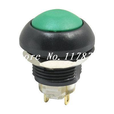 Industrial 12mm DC 36V 2A Momentary Green Push Button Switch 1NO(China (Mainland))