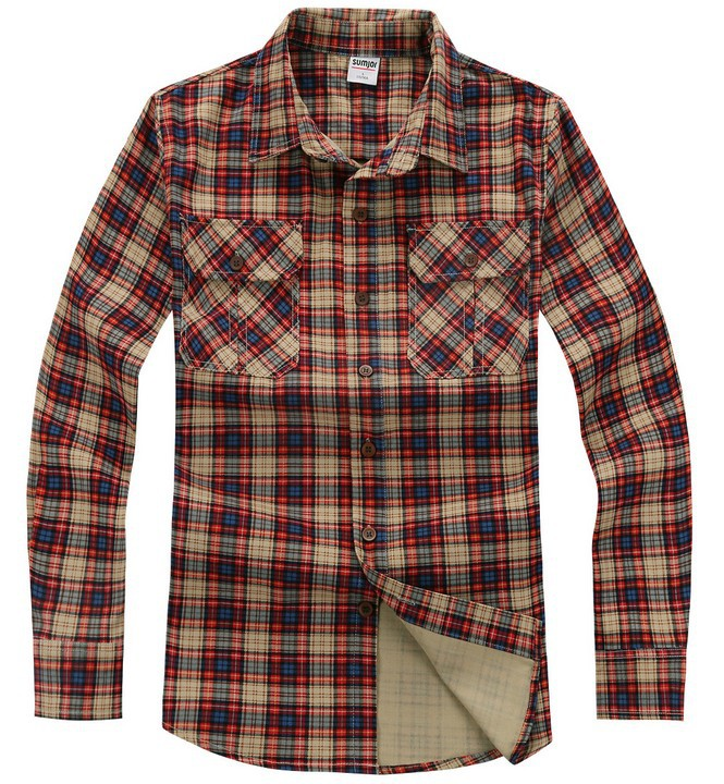 Male Outdoor Sports Casual Shirt Men Classic Plaid Long Sleeve Shirts Military Flannel Shirt Camisas Social Men XXXLОдежда и ак�е��уары<br><br><br>Aliexpress