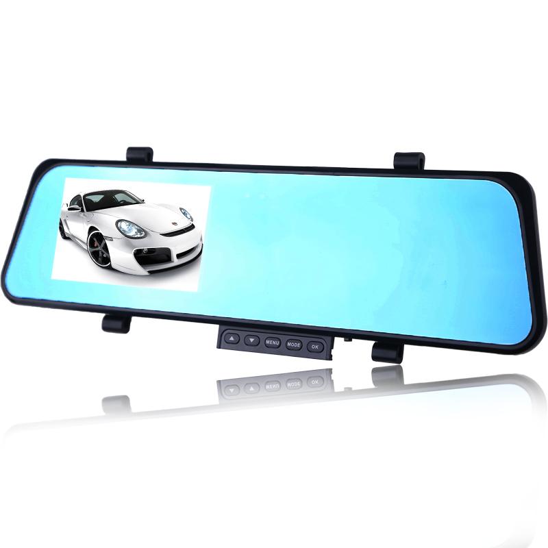 Видеорегистраторы на зеркало заднего вида с двумя камерами