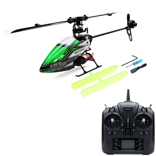 Radio control toy rc helicoptero Hisky HCP100S 6CH Dual Brushless RC Helicopter With H-6 Transmitter(China (Mainland))