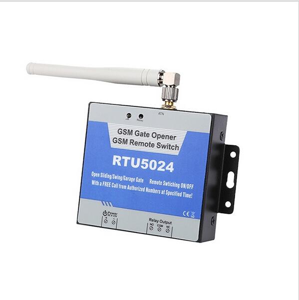 Гаджет  RTU5024 200 users GSM Remote Control(garage door opener/actuator control/DC motor switch) None Безопасность и защита