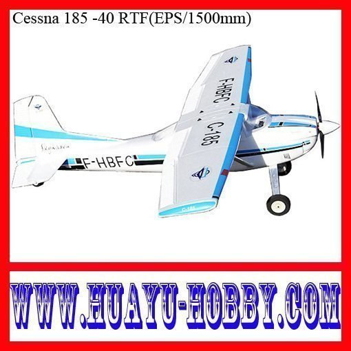 Durable EPO Cessna 185 -40 EPO 1500mm rc airplane RTF model plane
