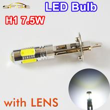 Buy H1 7.5W High Power Super Bright Car LED Headlight Auto Fog Lamp COB 12V XENON White Bulb for $2.33 in AliExpress store