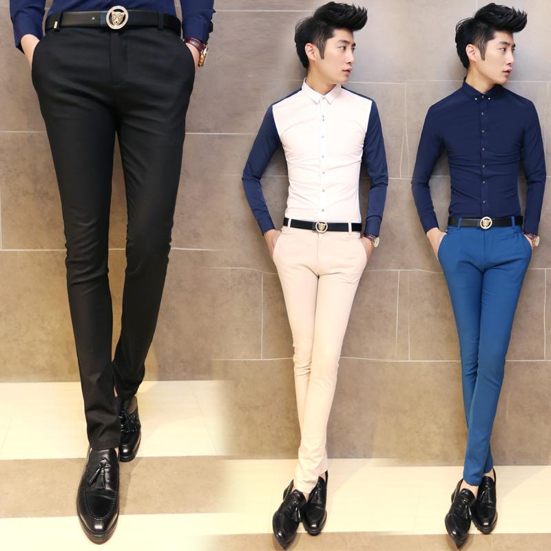 Online Get Cheap Black Skinny Suit Trousers -Aliexpress.com