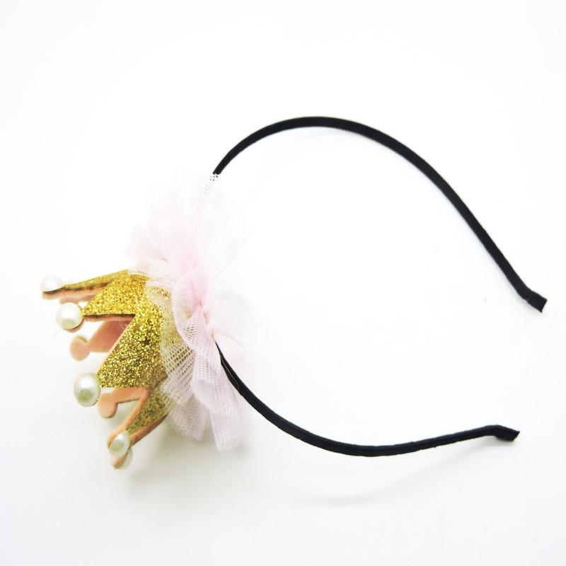 Princess Queen Hairband Rhinestone Tiara Headband Crown Headwear Hair Band Children Hair Accessories