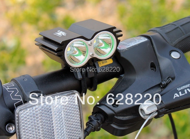 bicycle light SolarStorm 5000Lm 2x CREE XML U2 LED Bicycle Light bike HeadLight Headlamp - your & us store
