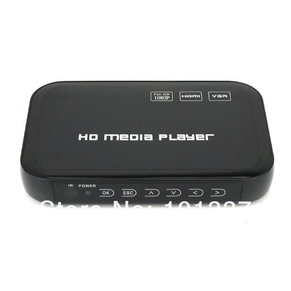3D Full Hd 1080P Media Player RMVB RM H.264 MKV AVI VOB FLV Hdd Player HDMI Output Free Shipping(Hong Kong)
