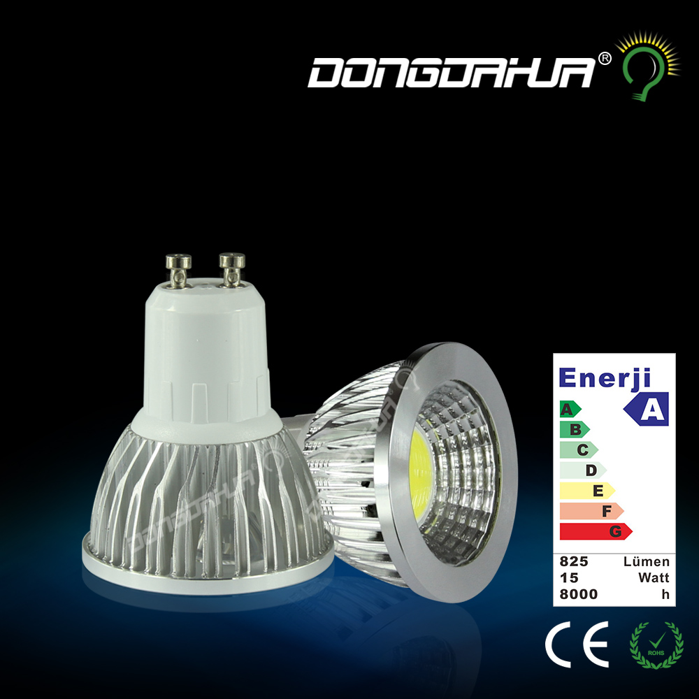 LED 220v 3W 5w7w COB GU10 Luminous uniformity GU5.3 light source lamp watts Super bright MR16 lamp pin shooting Drive power(China (Mainland))