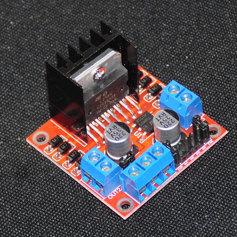 L298N Stepper Motor Driver Board Case For Arduino Dual H Bridge Stepper Motor Controller Module Robot Control Carro intelligent(China (Mainland))