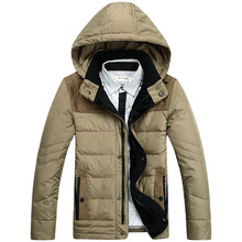 Hot Sale!the New 2015 Men Down Jacket High-end Men's Short Down Jacket More Men Down Jacket In Winter L-4XL Army Green Khakis(China (Mainland))