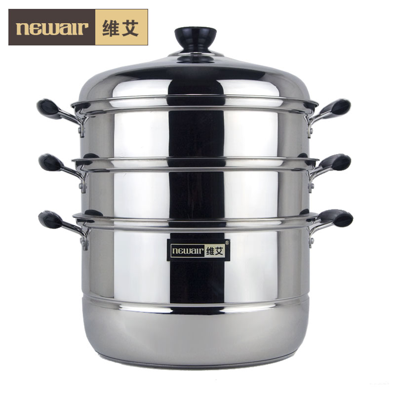 free-shipping-30cm-stainless-steel-floor-steamer-soup-pot ...