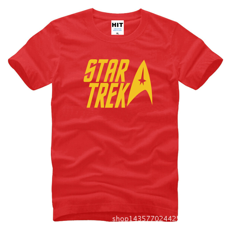 classic movie Star trek Printed Mens Men T Shirt Tshirt Fashion 2015 New Short Sleeve O Neck Cotton T-shirt Tee Camisetas Hombre  HTB1om6QKXXXXXbjXpXXq6xXFXXX5
