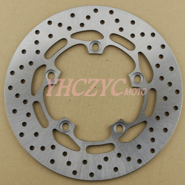 Brake disc, rear Fits Yamaha MT03 MT-03 2006-2012 delivery - YHC YHC's store