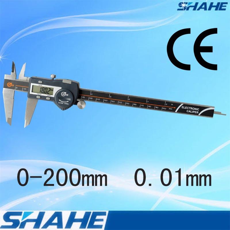 SHAHE caliper high accuracy digital vernier caliper gauge IP54 digital paquimetro Diameter measurement tools paquimetro digital(China (Mainland))