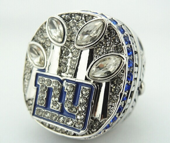 High Qualiity All Kinds Of Sport Replica 2011 Super Bowl New York Giants Championship Ring solid replica(China (Mainland))