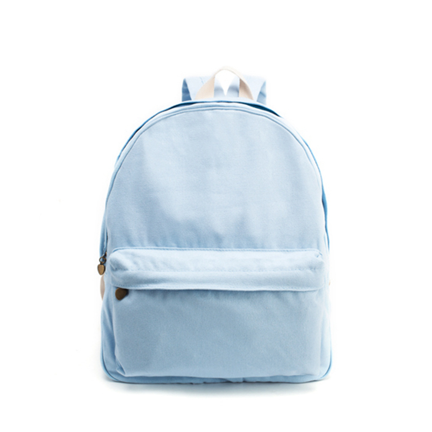 Solid Thickening Canvas Backpack Daily Leisure And Fashion Bags For Men Or Women Travel<br><br>Aliexpress